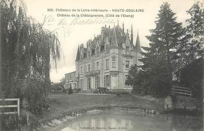 """CPA FRANCE 44 """"Haute Goulaine, château de la Châtaigneraie"""""""
