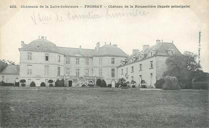 """CPA FRANCE 44 """"Frossay, le château de la Rousselière """""""