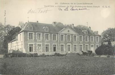 """CPA FRANCE 44 """"Nantes, château du Fort Portricq en Saint Joseph"""""""