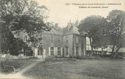"""CPA FRANCE 44 """"Escoublac, château de Lesnérac"""""""