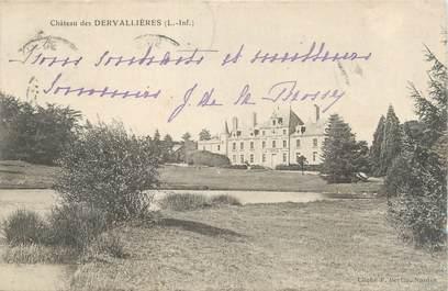 """CPA FRANCE 44 """"Château des Dervallières"""""""