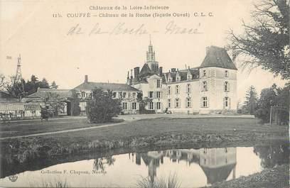 """CPA FRANCE 44 """"Couffé, château de la Roche"""""""