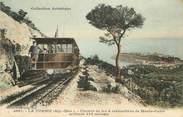 """06 Alpe Maritime / CPA FRANCE 06 """"La Turbie, chemin de fer à crémaillère de Monte Carlo"""""""