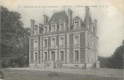 "CPA FRANCE 44 ""Nantes, château de la Close"""