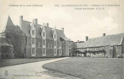 """CPA FRANCE 44 """"La Chapelle Glain, château de la Motte Glain"""""""