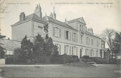 """CPA FRANCE 44 """"Chantenay sur Loire, château des Renardières"""""""