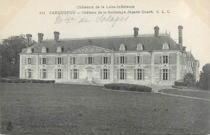 "CPA FRANCE 44 ""Carquefou, château de la Seilleraye"""
