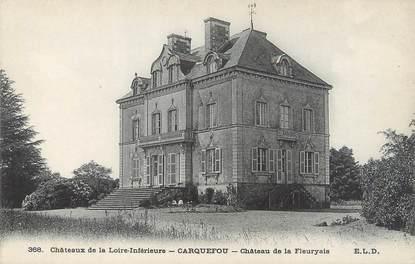 """CPA FRANCE 44 """"Carquefou, château de la Fleuryais"""""""