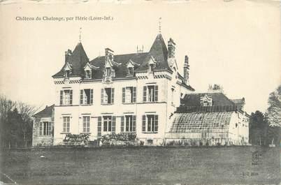 """CPA FRANCE 44 """"Héric, château du Chalonge """""""