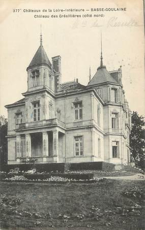 """CPA FRANCE 44 """"Basse Goulaine, château des Grésillières"""""""
