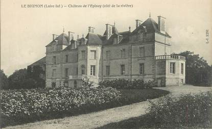 """CPA FRANCE 44 """"Le Bignon, château de l'Epinay"""""""
