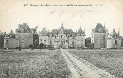 """CPA FRANCE 44 """"Anetz, château de Vair"""""""