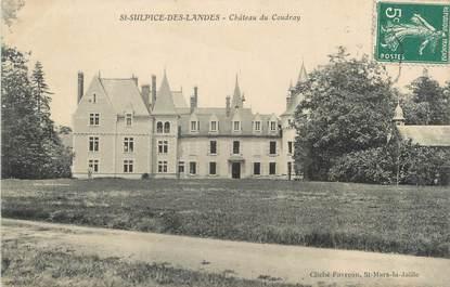 """CPA FRANCE 44 """"Saint Sulpice des Landes, château du Coudray"""""""