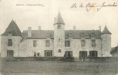 """CPA FRANCE 44 """"Derval, château de la Haye"""""""