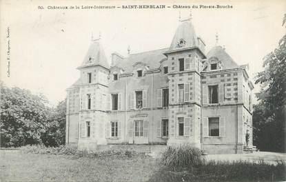"""CPA FRANCE 44 """"Saint Herblain, château du Plessis Bouche"""""""