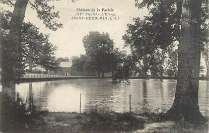 """CPA FRANCE 44 """"Saint Herblain, château de la Paclais"""""""