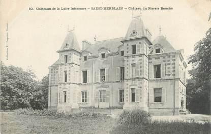 """CPA FRANCE 44 """"Saint Herblain, château du Plessis Bouche """""""