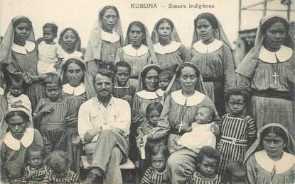 """CPA NOUVELLE GUINEE """"Kubuna"""""""