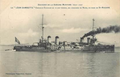 "CPA FRANCE 44 ""Saint Nazaire, le Léon Gambetta"""