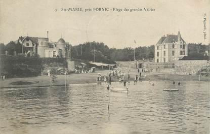 """CPA FRANCE 44 """"Sainte Marie sur Mer, plage des Grandes vallées"""""""