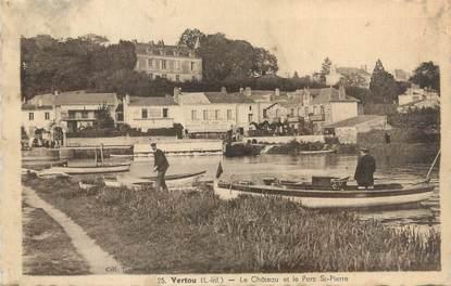 """CPA FRANCE 44 """"Vertou, le Château et le Parc Saint Pierre"""""""