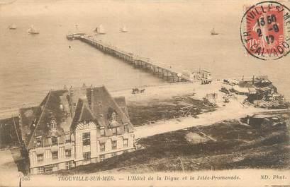 """CPA FRANCE 14 """"Trouville sur Mer, l'hôtel de la Digue"""""""