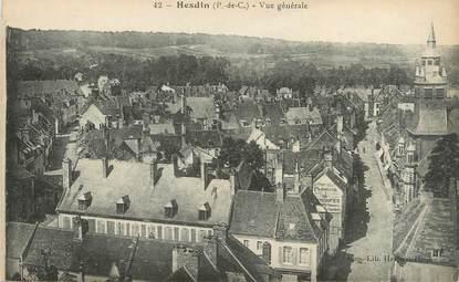"""CPA FRANCE 62 """"Hesdin, vue générale"""""""