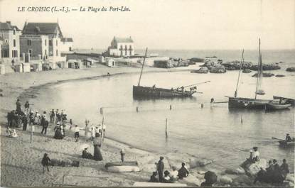 """CPA FRANCE 44 """"Le Croisic, la plage du Port Lin"""""""