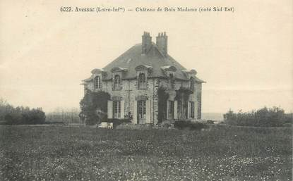 "CPA FRANCE 44 ""Avessac, château de Bois Madame"""