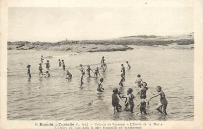 "CPA FRANCE 44 ""Brandu la Turballe, colonie de vacances l'Etoile de la Mer"""