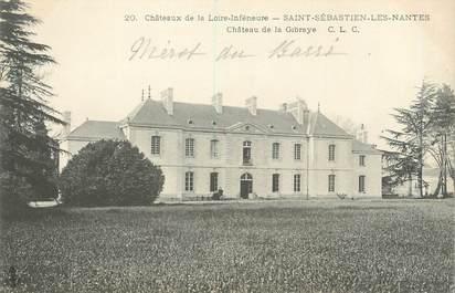 "CPA FRANCE 44 ""Saint Sebastien Les Nantes, château de Gibraye"""