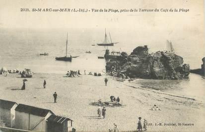 """CPA FRANCE 44 """"Saint Marc sur Mer, vue de la plage"""""""