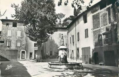 "CPSM FRANCE 13 ""Auriol; place Saint Barbe"""