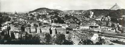 """CPSM PANORAMIQUE FRANCE 54 """"Longwy, panorama de la vallée des hauts fourneaux"""""""