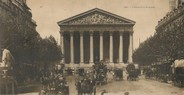 """75 Pari CPA PANORAMIQUE FRANCE 75008 """"Paris, l'église de la Madeleine"""""""