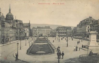 """CPA PANORAMIQUE FRANCE 63 """"Clermont Ferrand, place de Jaude"""""""