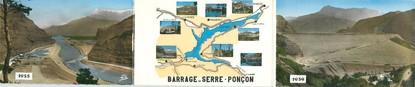 """CPSM LIVRET FRANCE 05 """"Serre Ponçon, barrage"""""""