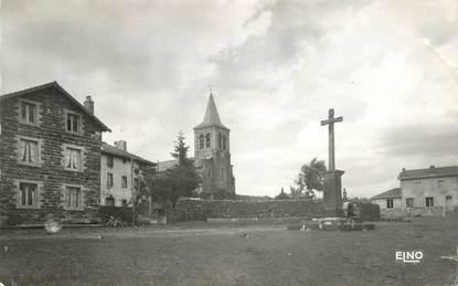 """/ CPSM FRANCE 43 """"Le Bouchet Saint Nicolas, place de l'église"""""""