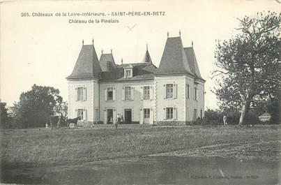 """CPA FRANCE 44 """"Saint Père en Retz, château de la Pinelais"""""""