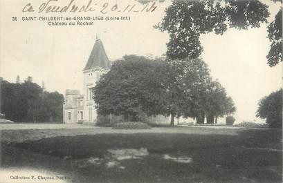 """CPA FRANCE 44 """"Saint Philibert de Grandlieu, château du Rocher"""""""