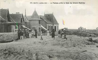 """CPA FRANCE 44 """"Batz, le plateau près la Bale du Grand Mathieu"""""""