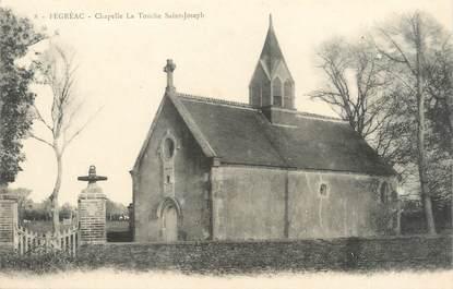 """CPA FRANCE 44 """"Fégréac, chapelle La Touche"""""""