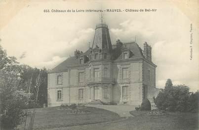 """CPA FRANCE 44 """"Mauves, château de Bel Air"""""""
