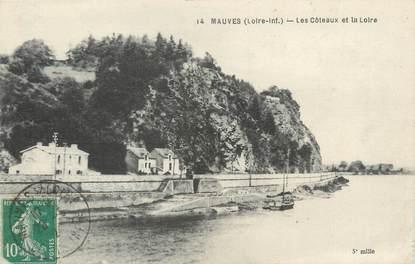 """CPA FRANCE 44 """"Mauves, les coteaux et la Loire"""""""
