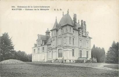 """CPA FRANCE 44 """"Mauves, château de la Métayrie"""""""