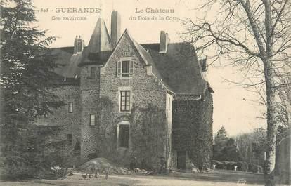 """CPA FRANCE 44 """"Guérande, le château du bois de la cour"""""""