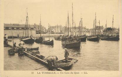 "CPA FRANCE 44 ""La Turballe, un coin du quai"""