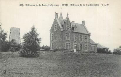 """CPA FRANCE 44 """"Sucé, château de la Guillonnière"""""""