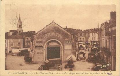 "CPA FRANCE 44 ""Savenay, la place des Halles"""