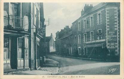 "CPA FRANCE 44 ""Savenay, rue de Moëre"""